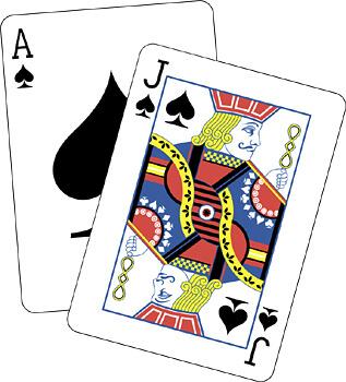 cartas para jugar gratis al Blackjack