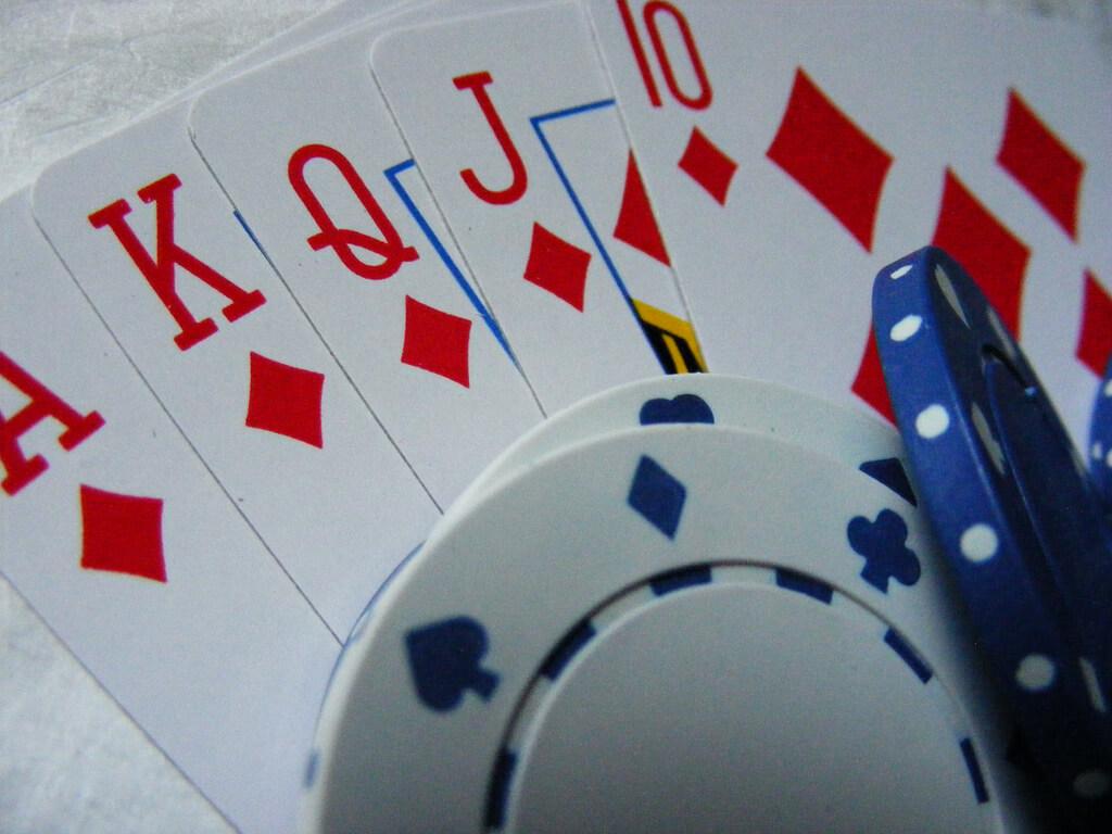 fichas y cartas de casino online para blackjack