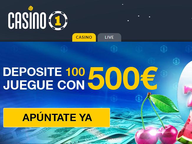 casino 1 bono