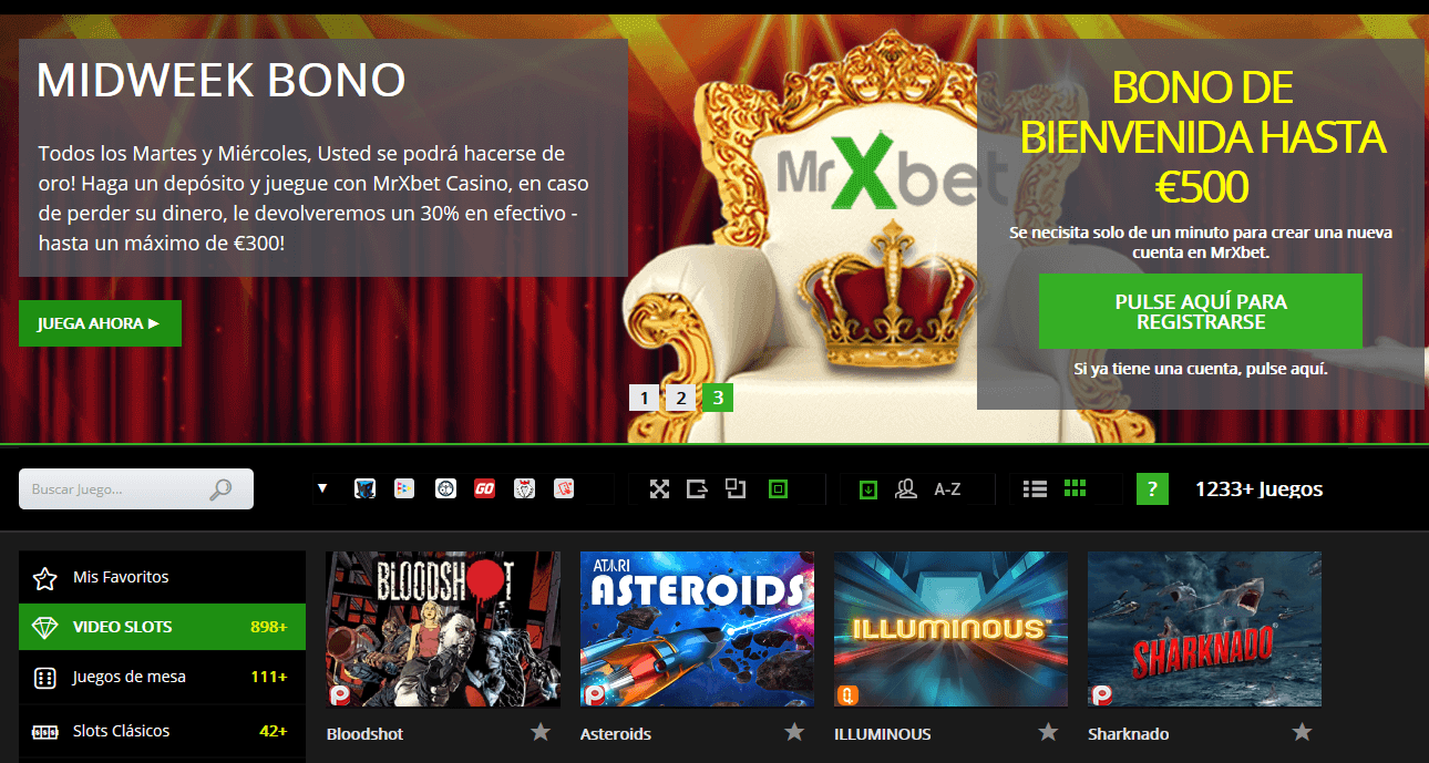 Mrxbet Casino bonos