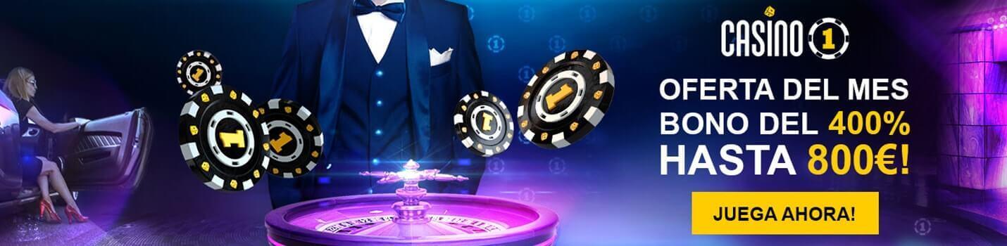 Casino 1 Blackjack Online Cabecera