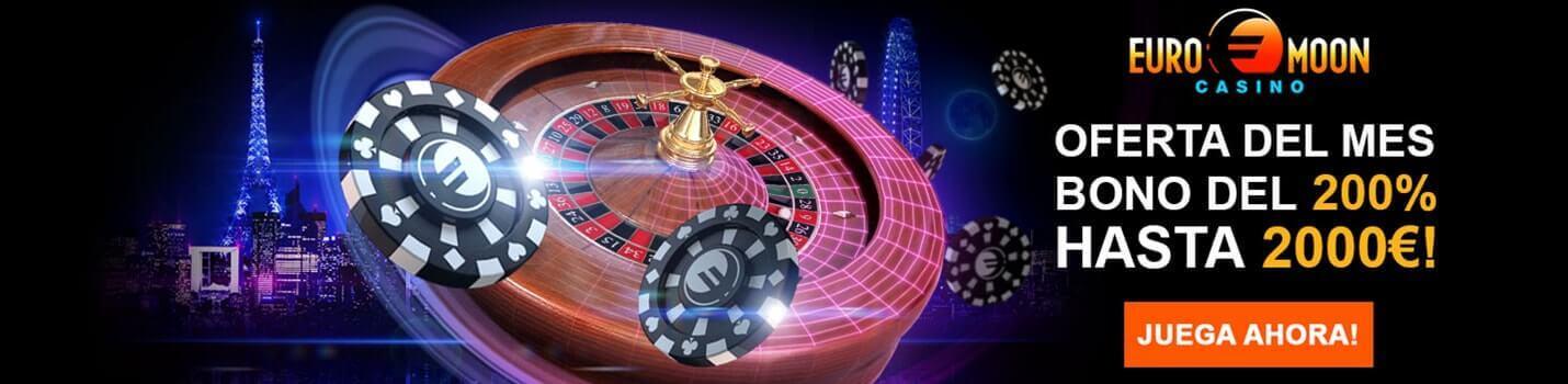 Euromoon Blackjack Online Cabecera