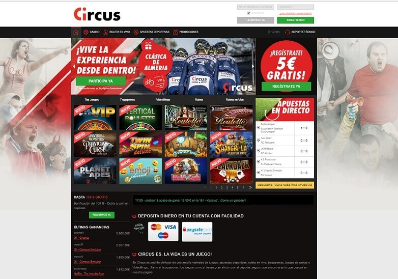 circus casino analisis