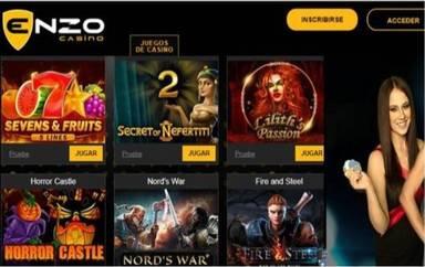 Giros gratis Enzzo Casino