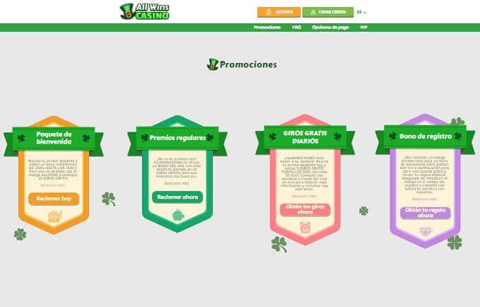 allwins casino promociones