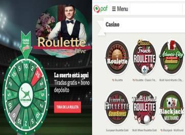 Casino Paf retorna 20 euros por tu apuesta