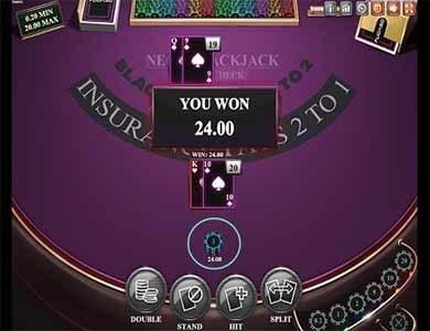 simulador blackjack