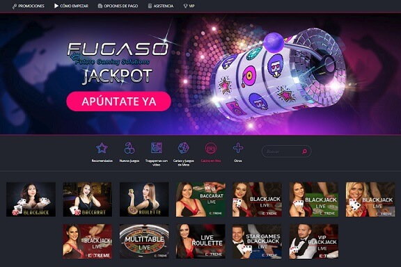 casino disco header