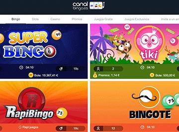 Canal bingo juegos
