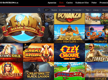 casino barcelona tragaperras