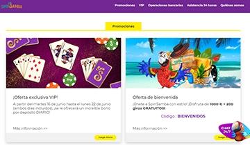 SpinSamba Codigo Promocional